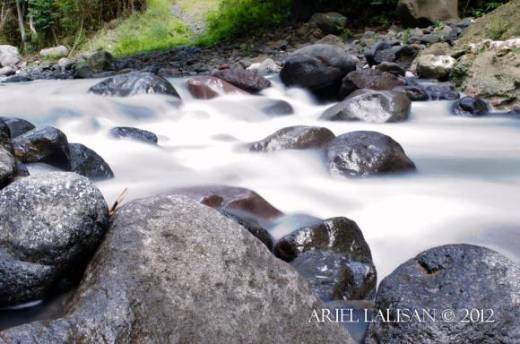stream on the way to amsicong falls