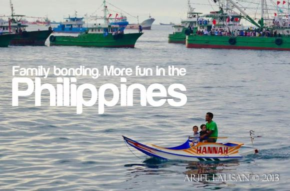 family bonding. more fun in the philippines