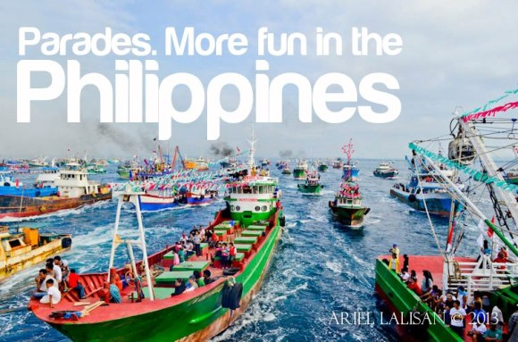 parades. more fun in the philippines